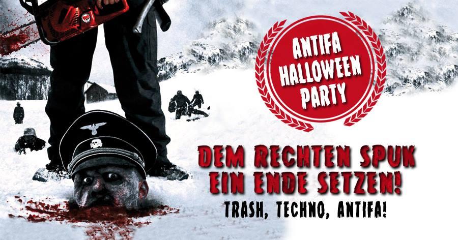 Antifa Halloween Party: Dem rechten Spuk ein Ende setzen @ Indra Club 64   Hamburg   Hamburg   Deutschland