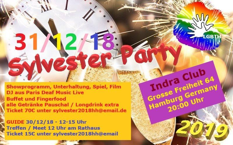 Deaf Queer Silvester Party @ Indra Club 64 | Hamburg | Hamburg | Deutschland