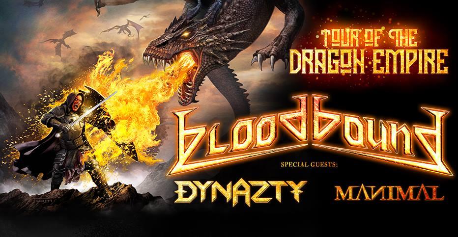 Bloodbound I Dynazty I Manimal @ Indra Club 64