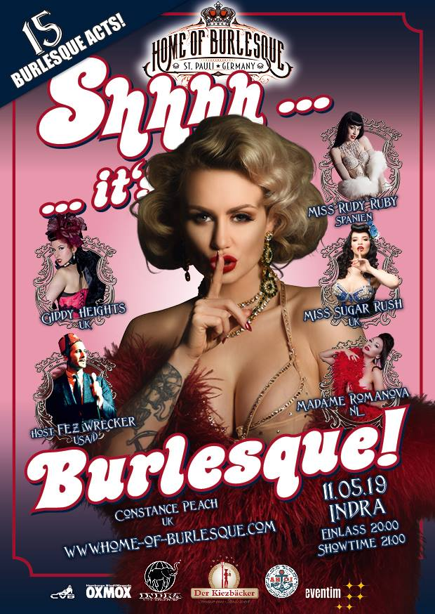 Home of Burlesque @ Indra Club 64