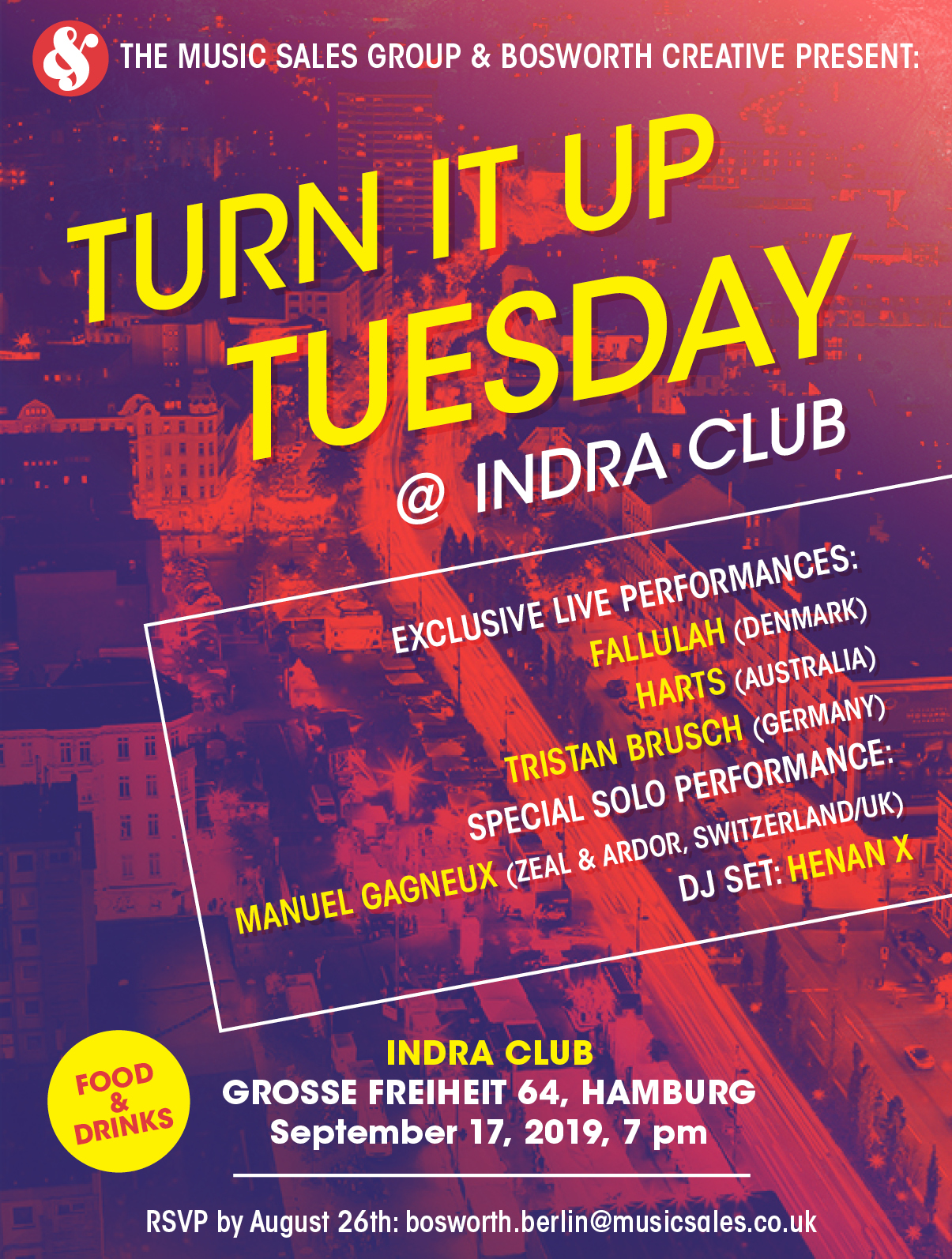 Turn it up Tuesday @ Indra Club 64
