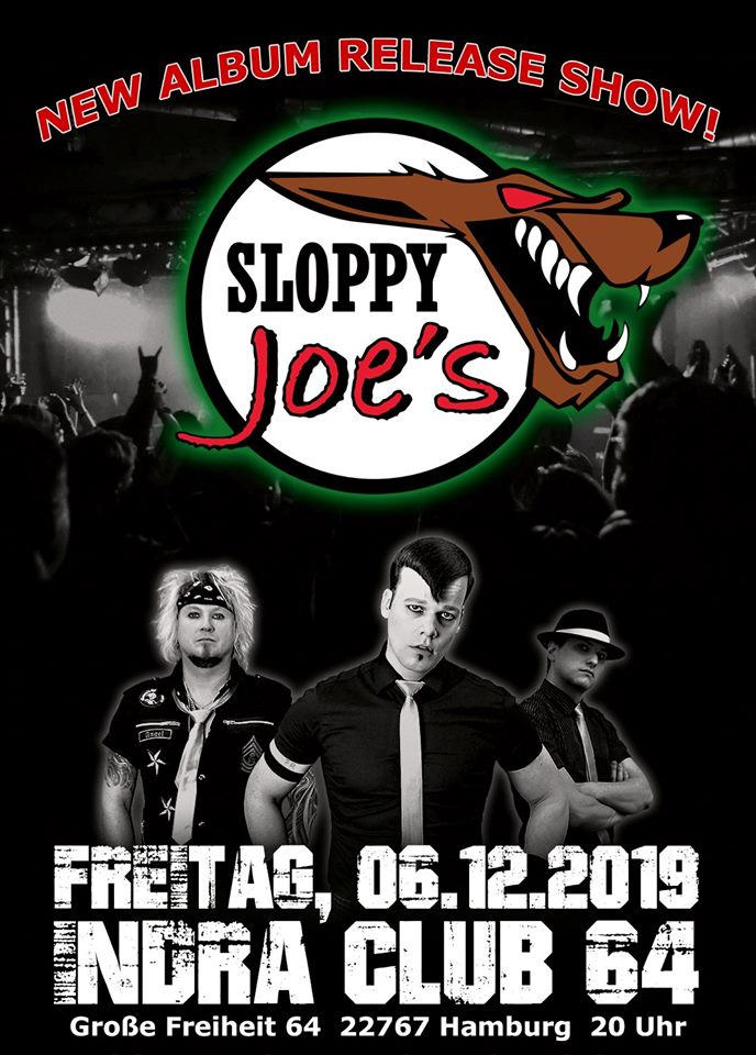 Sloppy Joe´s New Album Release